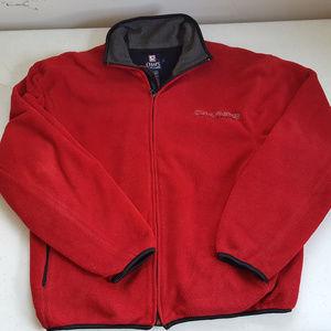 Vintage Chaps Ralph Lauren Full Zip Fleece Sweater